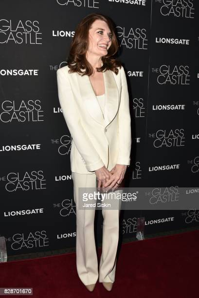 Author Jeannette Walls attends The Glass Castle New York Screeningat SVA Theatre on August 9 2017 in New York City