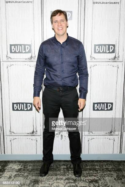 Author Jeff Kinney attends Build Presents Jeff Kinney Discussing Diary Of A Wimpy Kid The Long Haul at Build Studio on May 15 2017 in New York City