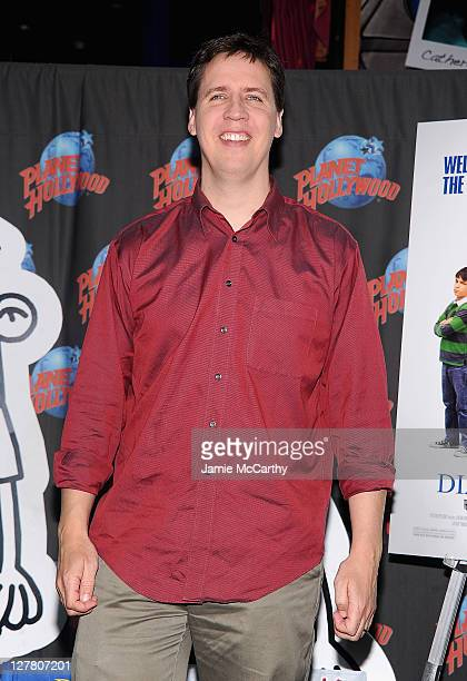 Author Jeff Kinney visits Planet Hollywood Times Square on March 16 2011 in New York City