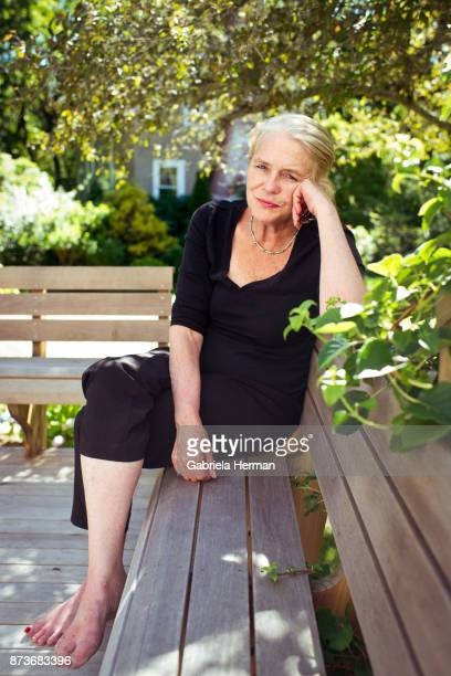 Author Jenny Allen is photographed for New York Times on June 26 2017 in Martha's Vineyard Massachusetts PUBLISHED IMAGE