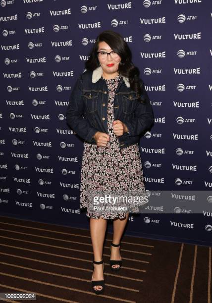 Author Jenny Han attend the 2018 Vulture Festival Los Angeles at The Hollywood Roosevelt Hotel on November 17 2018 in Los Angeles California