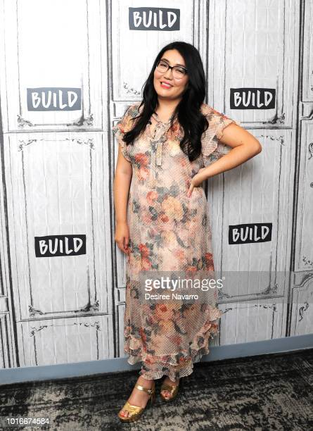 Author Jenny Han attends Build Brunch at Build Studio on August 14 2018 in New York City