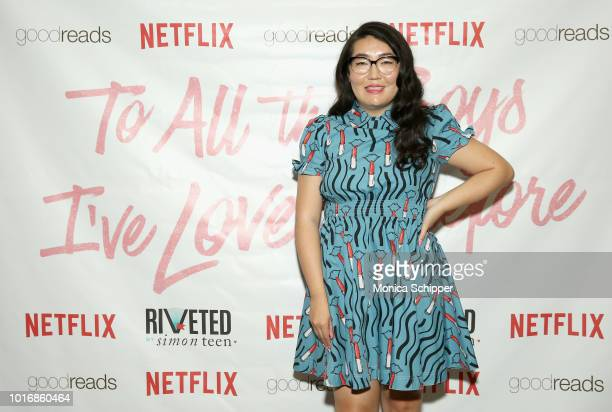 Author Jenny Han attends To All The Boys I've Loved Before New York Screening at AMC Loews Lincoln Square on August 14 2018 in New York City
