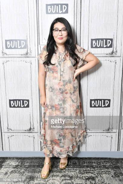 Author Jenny Han visits the Build Brunch at Build Studio on August 14 2018 in New York City