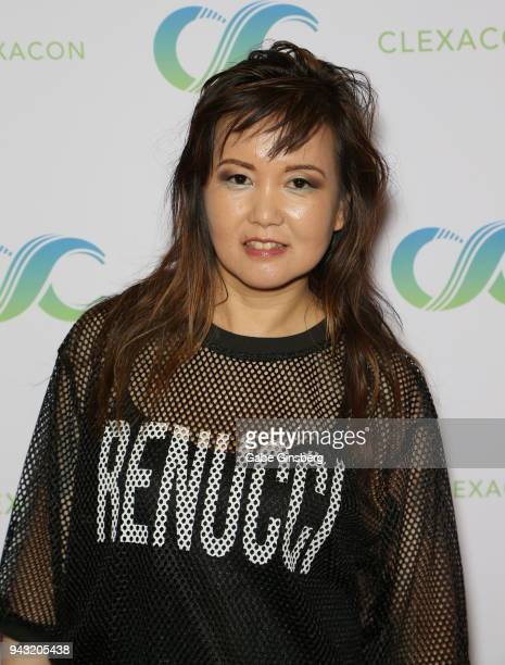 Author Ji Strangeway attends the Cocktails for Change fundraiser hosted by ClexaCon to benefit Cyndi Lauper's True Colors Fund at the Tropicana Las...
