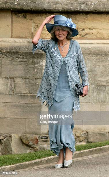 Author Jilly Cooper attends the Service of Prayer and Dedication following the marriage of TRH Prince Charles and The Duchess Of Cornwall Camilla...