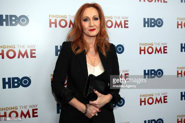 Author JK Rowling attends HBO's 'Finding The Way Home' World Premiere at Hudson Yards in New York United States on December 11 2019