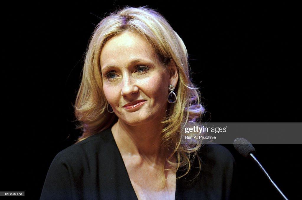 J.K Rowling - In Conversation : News Photo