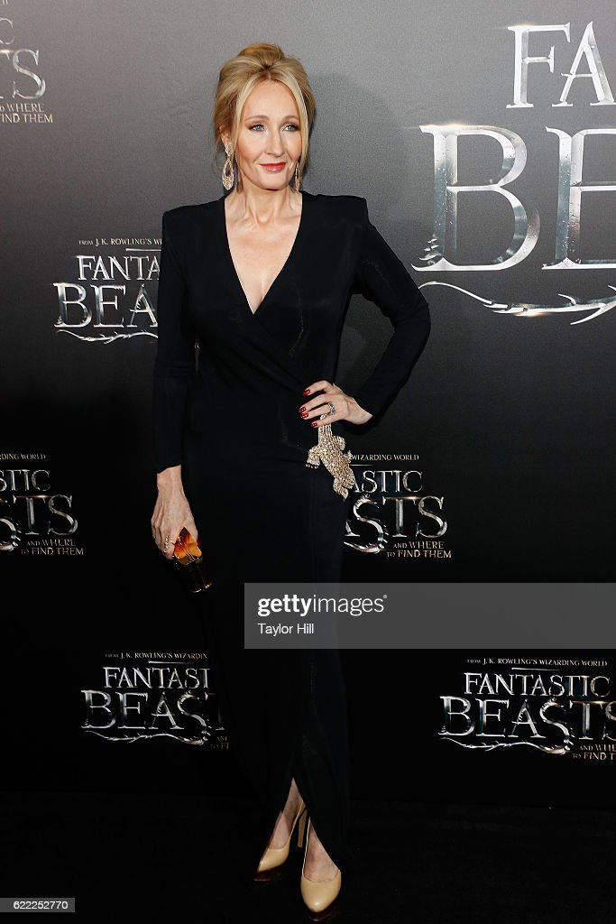 Author J.K. Rowling attends the premiere of 'Fantastic Beasts and Where to Find Them' at Alice Tully Hall, Lincoln Center on November 10, 2016 in New York City.