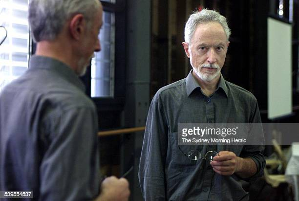 Author JM Coetzee 6 January 2003 THE SMH NEWS picture by EDWINA PICKLES