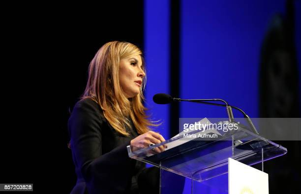 Author Joanne Ryder speaks during Pennsylvania Conference For Women 2017 at Pennsylvania Convention Center on October 3 2017 in Philadelphia...