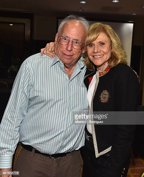 Author Joel Tator and actress Melody Rogers attend the book launch of Los Angeles Television by author Joel Tator presented by The Museum of...
