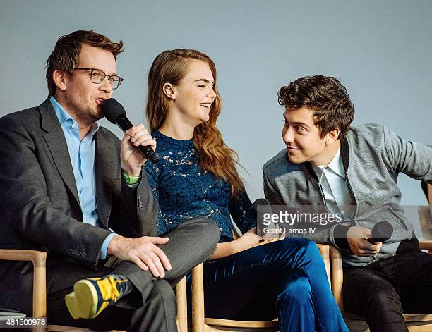 John green pictures and photos getty images author john green cara delevingne and nat wolff attend the meet the filmmaker jake schreier john m4hsunfo