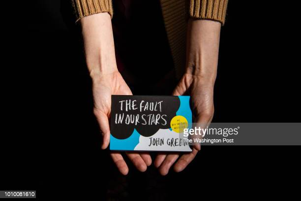 Author John Green's new flipbook 'The Fault in Our Stars' is photographed on Thursday August 2 in Washington DC Flipbooks are about the size of a...