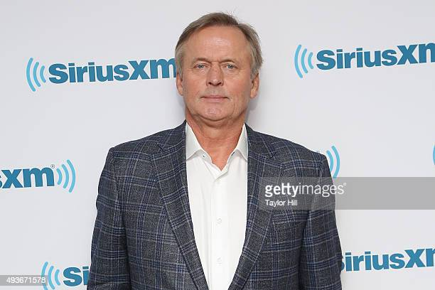 Author John Grisham visits the SiriusXM Studios on October 21 2015 in New York City