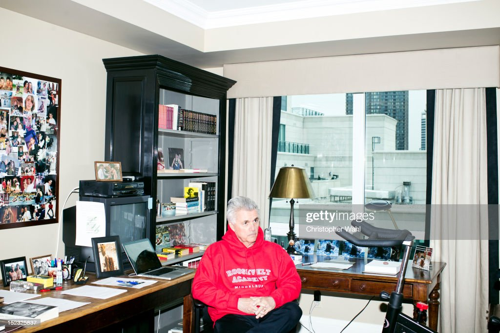 Author John Irving Is Photographed For