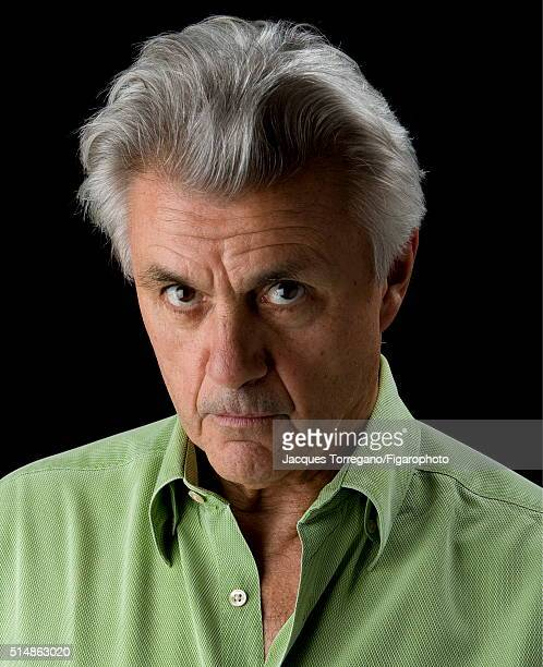 Author John Irving is photographed for Le Figaro Magazine on September 15 2006 in Paris France PUBLISHED IMAGE CREDIT MUST READ Jacques...