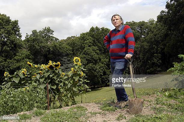 Author John Marsden is planning to start a school on his property north of Melbourne Taken 20th February 2005 AGE NEWS Picture by JAMES BODDINGTON