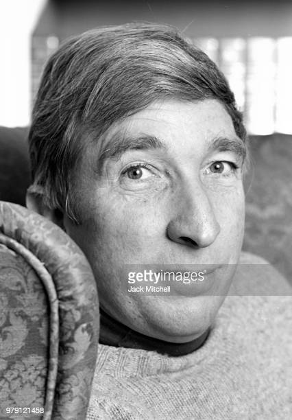 Author John Updike photographed at his home in Massachusetts in November 1978 the year his bestseller 'The Coup' was published