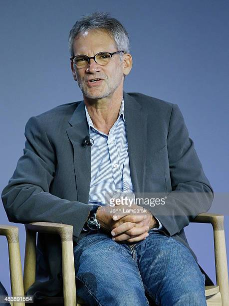 Author Jon Krakauer attends Meru discussion at the Apple Store Soho on August 13 2015 in New York City