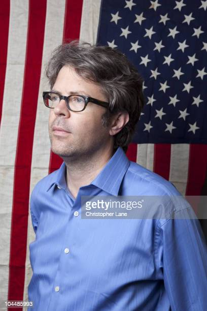 Author Jonathan Franzen is photographed for Books Quarterly London