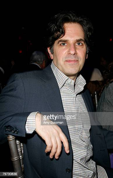 Author Jonathan Lethem attends a dinner to benefit Brooklyn Academy of Music at the BAM Howard Gilman Opera House on February 12, 2008 in Brooklyn...