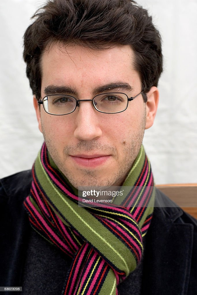 Author Jonathan Safran Foer poses for a portrait at 'The Guardian Hay Festival 2005' held at Hay on Wye on June 5, 2005 in Powys, Wales. The festival runs until June 5.