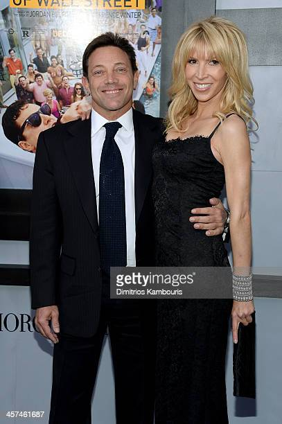 Author Jordan Belfort attends the 'The Wolf Of Wall Street' premiere at the Ziegfeld Theatre on December 17 2013 in New York City