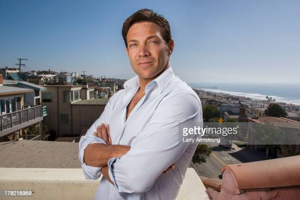 Author Jordan Belfort is photographed for Daily Telegraph on February 12 2008 in Manhattan Beach California