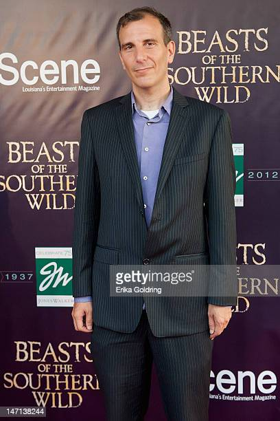 Author Jordan Flaherty attends the Beasts of the Southern Wild premiere>> at The Joy Theater on June 25 2012 in New Orleans Louisiana