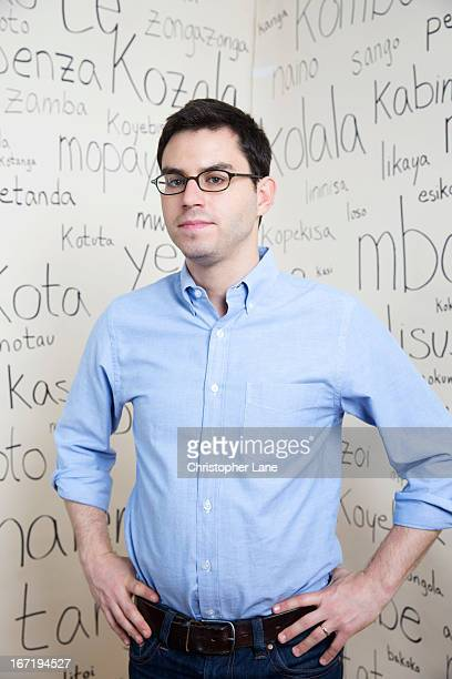 Author Joshua Foer is photographed for The Guardian Newspaper on November 2, 2012 in New Haven, Connecticut.