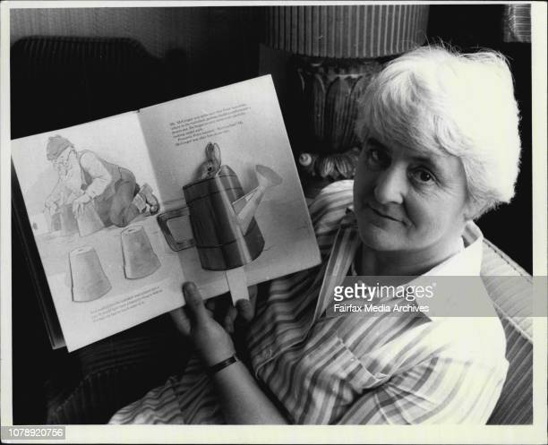 Author Judy Taylor who is editing works by Beatrix Potter February 12 1985
