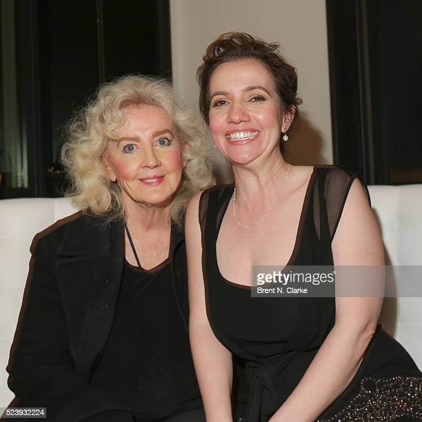 Author Julia Cameron and director Domenica CameronScorsese attend the Almost Paris premiere after party on April 24 2016 in New York City