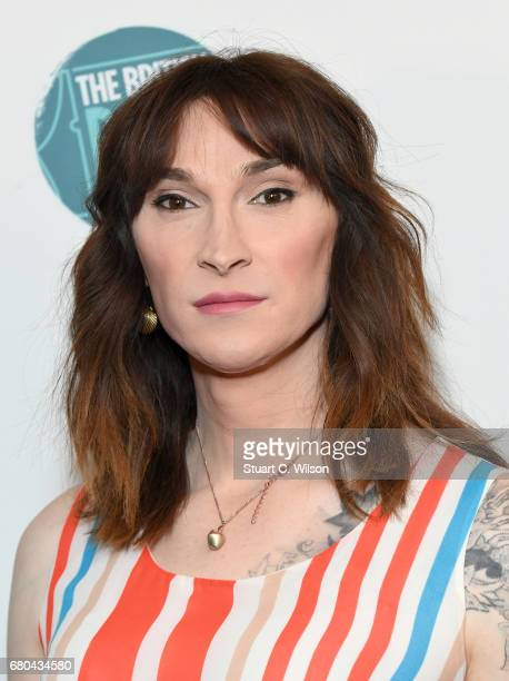 Author Juno Dawson attends The British Book Awards at the Grosvenor House Hotel on May 8 2017 in London England