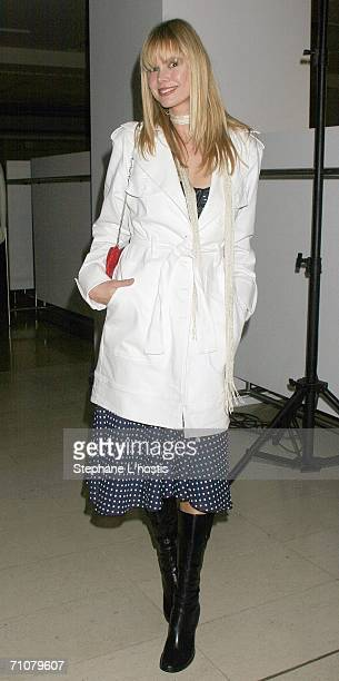 Author Karen Fischer attends the launch for the Myer Spring/Summer 2006 International Collection at Myer Pitt Street Mall May 30 2006 in Sydney...