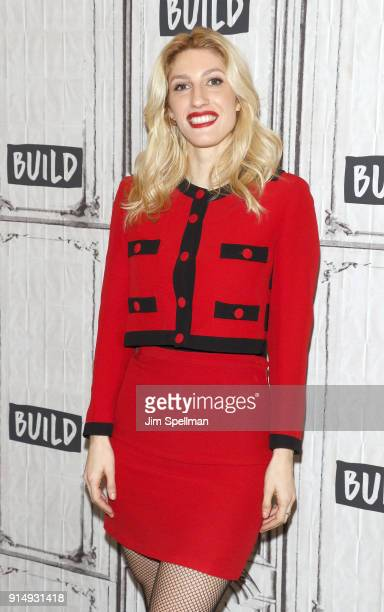 Author Karley Sciortino attends the Build Series to discuss 'Slutever Dispatches from a Sexually Autonomous Woman in a PostShame World' at Build...