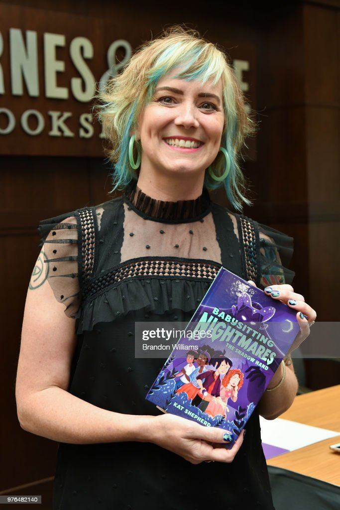"Kat Shepherd Celebrates Her Book Novel ""Babysitting Nightmares: The Shadow Hand"""