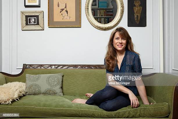 Author Kate Bolick is photographed for The Observer Magazine on November 21 2011 in New York City