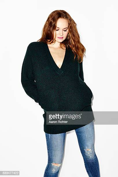 Author Katherine Faw Morris is photographed for Aritzia #FallForUs in 2014 in New York City PUBLISHED IMAGE