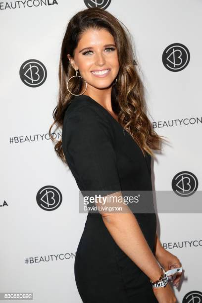 Author Katherine Schwarzenegger attends Day 1 of the 5th Annual Beautycon Festival Los Angeles at the Los Angeles Convention Center on August 12 2017...