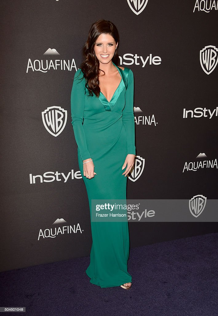 Author Katherine Schwarzenegger attends InStyle and Warner Bros. 73rd Annual Golden Globe Awards Post-Party at The Beverly Hilton Hotel on January 10, 2016 in Beverly Hills, California.