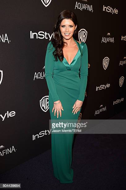 Author Katherine Schwarzenegger attends The 2016 InStyle And Warner Bros. 73rd Annual Golden Globe Awards Post-Party at The Beverly Hilton Hotel on...