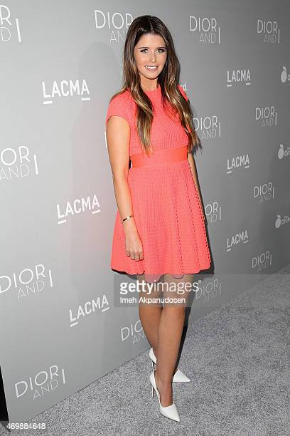 Author Katherine Schwarzenegger attends the premiere of The Orchard's 'DIOR I' at LACMA on April 15 2015 in Los Angeles California