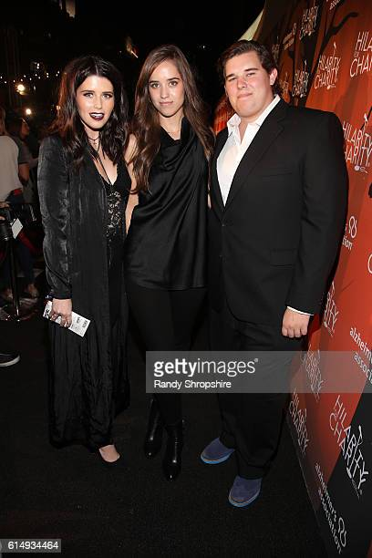 Author Katherine Schwarzenegger Christina Schwarzenegger and Christopher Schwarzenegger attend Hilarity for Charity's 5th Annual Los Angeles Variety...
