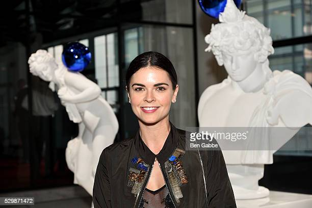 Author Katie Lee attends the Jeff Koons x Google launch on May 09 2016 in New York New York