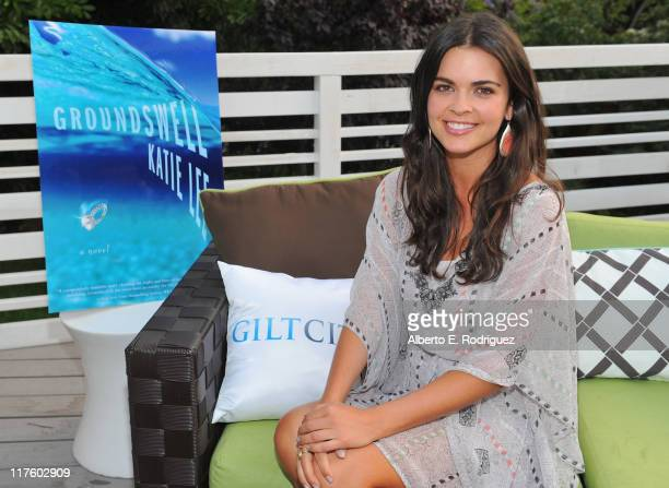 Author Katie Lee attends the Launch of her new book 'Groundswell' hosted by Gilt City at W Los Angeles Westwood on June 28 2011 in Los Angeles...