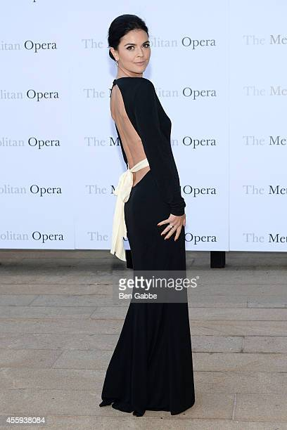 Author Katie Lee attends the Metropolitan Opera Season Opening at The Metropolitan Opera House on September 22 2014 in New York City