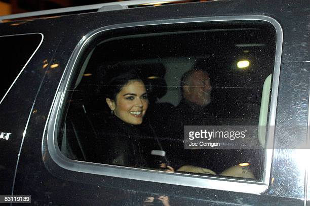 Author Katie Lee Joel and musician Billy Joel attend Howard Stern's and Beth Ostrosky 's wedding at Le Cirque on October 3 2008 in New York City