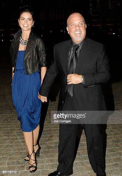 Author Katie Lee Joel and musician Billy Joel attend the Howard Stern's and Beth Ostrosky 's wedding at Le Cirque on October 3 2008 in New York City