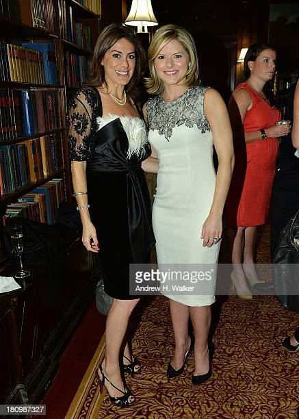 Author Katie Nicholl and CNN's New Day coanchor Kate Bolduan attend the Kate The Future Queen launch party on September 18 2013 in New York City